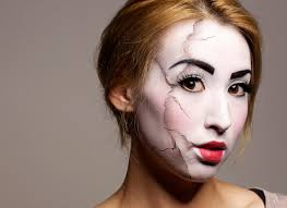 broken doll makeup tutorial ed doll makeup tutorial courtney little you