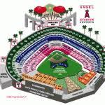 Angel Stadium Of Anaheim 3d Seating Chart Angel Stadium