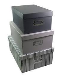 Decorative Storage Boxes Uk Picture of Humble Vintage Folding Storage Box Large Set of 60 57