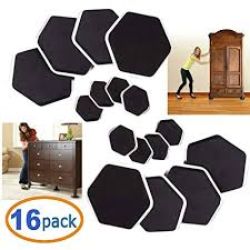 furniture moving sliders and feet pads 16 pc for moving furniture gliders for hardwood floor