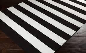 black and white striped rug ikea