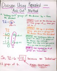 long division anchor chart chapter 4 anchor charts cont mrs stevensons rising