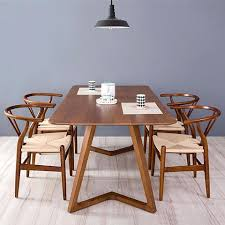 mid century modern dining room table. scandinavian dining table set aliexpresscom buy 100 pure solid wood tables and chairs mid century vintage modern room t