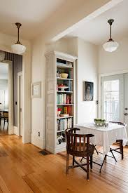 portland decorating with area nickel pendant lights dining room victorian  and beige bookshelf cafe seating