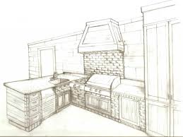 interior design sketches kitchen. Kitchen Design Sketch With Sketchup Interior Easy Home Decor For Best Collection Sketches N