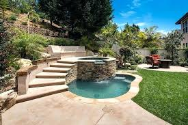 small outdoor hot tub backyard ideas home and garden spa pool with steals the show photography