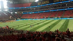 Atlanta United Interactive Seating Chart Mercedes Benz Stadium Section 125 Atlanta United