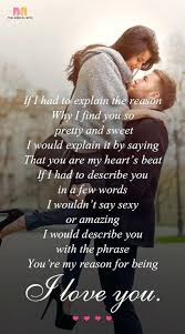Romantic Love Quotes For Her Unique Sweet Romantic Love Words For Her Pansime