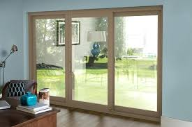 a sliding door comes with french doors style glass screens vs patio
