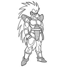 printable dragon ball z coloring pages. Plain Printable Character Name Raditz Coloring To Print With Printable Dragon Ball Z Pages O