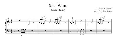 Print and download sheet music for star wars (main theme) from star wars. Easy Star Wars Piano Free Tutorial Feely Music