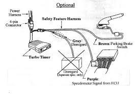 greddy turbo timer install optional set ups
