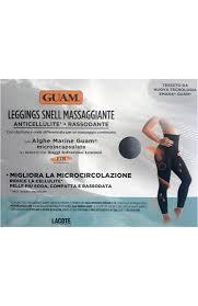 <b>Леггинсы с массажным</b> эффектом L/XL (46-50) <b>GUAM</b> для женщин