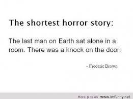 Funny Horror Quotes via Relatably.com