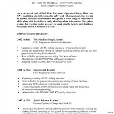 Furnace Operator Resume Exampleample Awesome Collection Of Cnc For