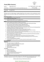 Resume Sample For Duty Manager Bullionbasis Com