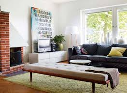 White Sofa Living Room Decorating Small Apartment Living Room Square Black Finish Wooden Coffee