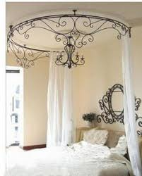 Iron Canopy Bed on Pinterest | Rod Iron Beds, Girls Canopy Beds ...