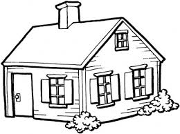 Small Picture House Coloring Page Center Of Articles 16160 Bestofcoloringcom