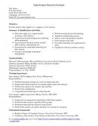 resume data analyst sample resume programmer analyst resume sample