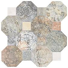 Tile Decor Store Merola Tile Silex Decor 100100100 in x 100100100 in Ceramic Floor and 56