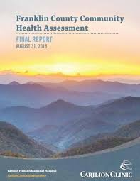 Carilion Clinic My Chart 2018 Franklin County Area Community Health Assessment Report