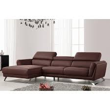 Modern l shaped couch Room Ideas Waldorf Modern Brown Leather Lshaped Sofa With Adjustable Headrests Indiamart Shop Waldorf Modern Brown Leather Lshaped Sofa With Adjustable