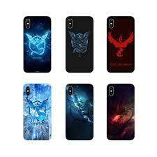 Pokemon GO Team Mystic Pocket Monsters For Huawei P8 9 Lite Nova 2i 3i GR3  Y6 Pro Y7 Y8 Y9 Prime 2017 2018 2019 Customized Cases|Half-wrapped Cases