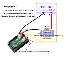 dc 100v 10a voltmeter ammeter blue red led dual digital volt amp 12 volt amp meter wiring diagram 10 of 12 dc 100v 10a voltmeter ammeter blue red led dual digital volt amp meter gauge av