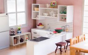 Miniature Dollhouse Kitchen Furniture Diy Dollhouse Miniature Kitchen For Nendoroid Dolls Action