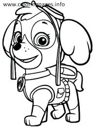Coloring Sheet Paw Patrol Coloring Book Page Intrabookclub