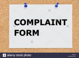 Complaint Form Complain Stock Photos & Complaint Form Complain Stock ...