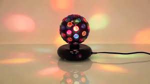 Spinning Colored Light Ball Multi Colour Rotating Disco Ball From Lumisource