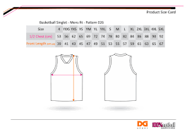Unisex Size Chart Western Magic Basketball Club Sportstg