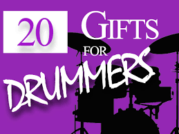 20 gifts for drummers