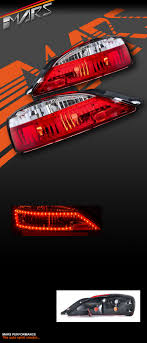 S15 Led Lights Details About Crystal Eye Clear Red Led Tail Lights For Jdm Nissan 200sx Silvia S15 Coupe