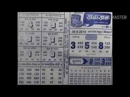 Khanakhan Chart 30 9 19 Kalyan And Milan