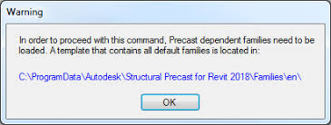 Structural Precast for Revit – Configuration Settings