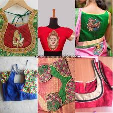 Cloth Patch Work Blouse Designs Patch Work Blouses To Add Some Fun