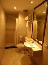 grand orchid hotel solo bathroom with hot and cold shower
