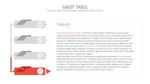 Swot Analysis Table Template Swot Analysis Template Deck Slidemodel