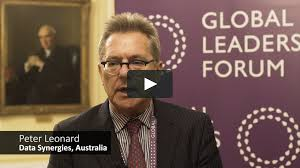 Peter Leonard, Global Leaders Data, Disruption and Technology Forum 2018 on  Vimeo