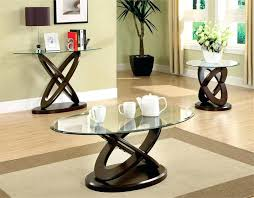 glass coffee table sets best glass coffee table set coaster 3 piece glass top coffee table set in cappuccino glass glass top coffee table ashley furniture