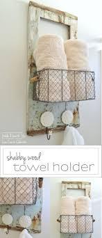 Bathroom Towel 17 Best Ideas About Towel Holder Bathroom On Pinterest Diy