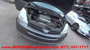 Parting Out 2004 Toyota Sienna - Stock - 7005GR - TLS Auto Recycling