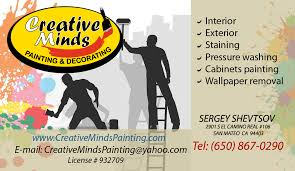 creative minds painting and decorating 415 260 6901