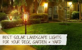 Solar patio lights Round Earths Friends Best Solar Landscape Lights For Your Deck Garden Yard