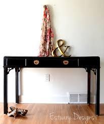 hollywood regency style furniture. Black Glossy Desk Hollywood Regency Style Furniture S