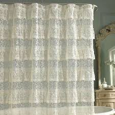white lace shower curtain. OriginalViews: White Lace Shower Curtain 3