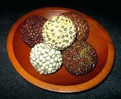 Decorative Bowl With Balls Decorative Balls In Bowl Balls In A Bowl Decorative Wooden Balls 71